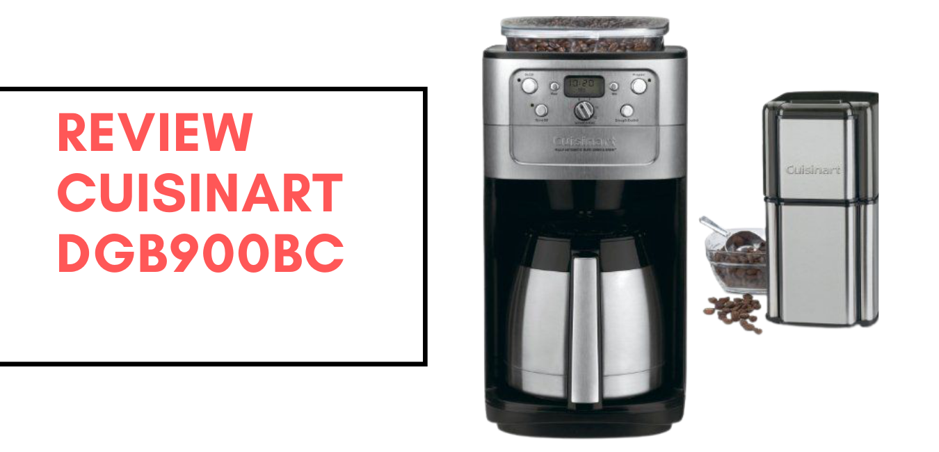 Cuisinart DGB 900BC Review: 12-Cup Automatic Coffeemaker